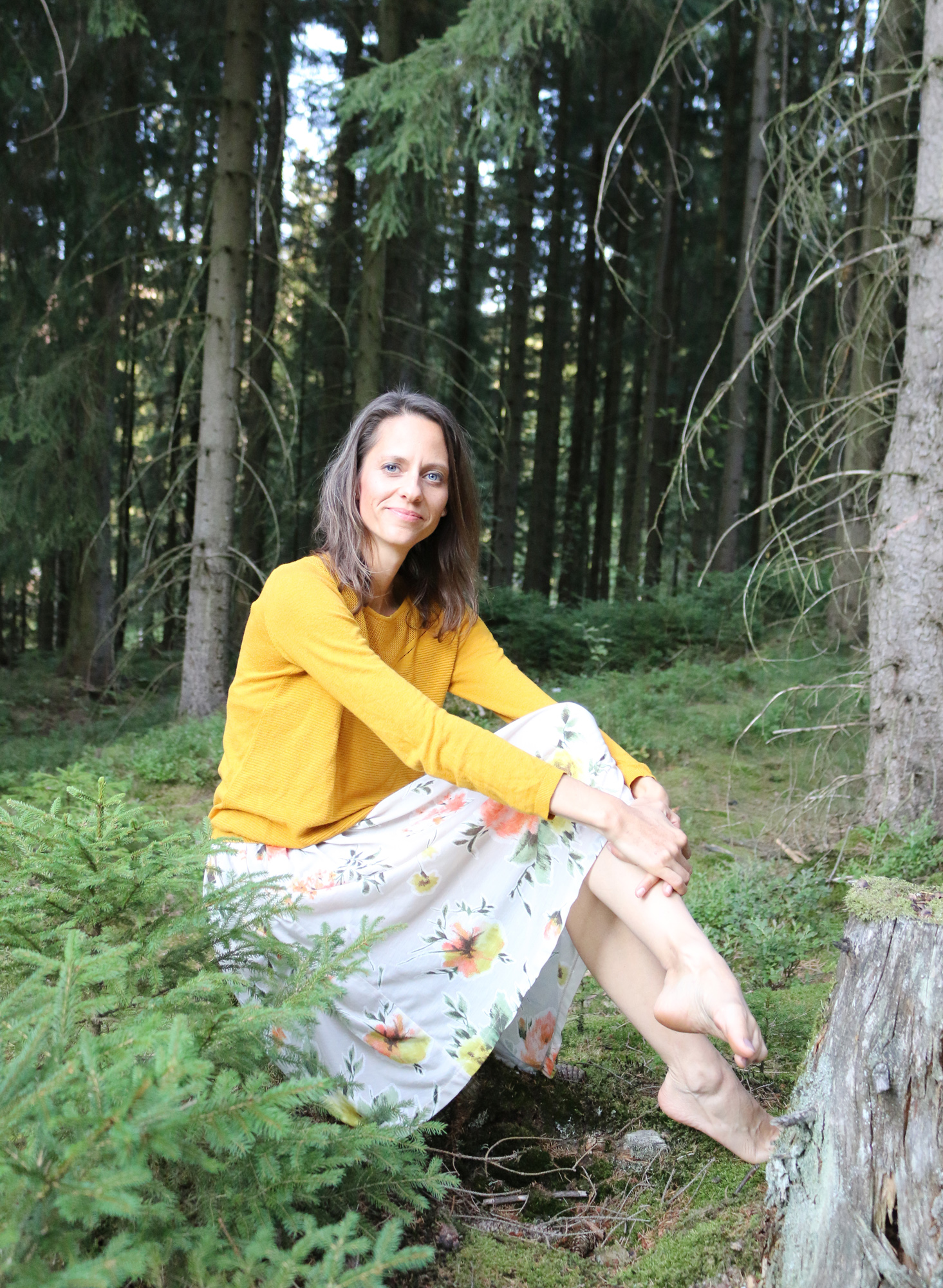 Katrin Sommer Waldbaden Thüringer Wald